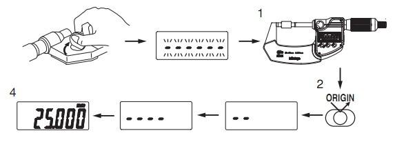 Hướng dẫn sử dụng panme điện tử